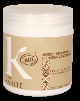 Masque bio au beurre de karité : la solution à vos cheveux secs